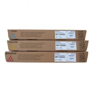 Toner originale Ricoh ciano Aficio  MPC4502 MPC5502 842023