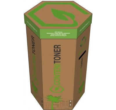 Contenitoner Ecobox Smaltimento Toner incluso servizio