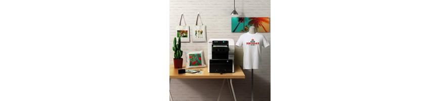 Stampanti per stampa diretta su tessuti Direct to Garment